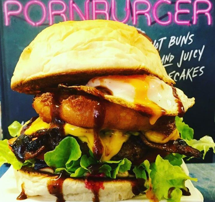 Bogan Burger- beef patty …