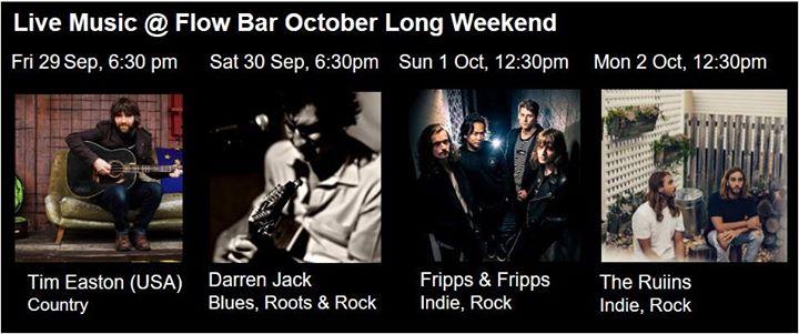 October Long Weekend at Flow Bar