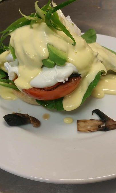 Eggs Benny vego style wit…