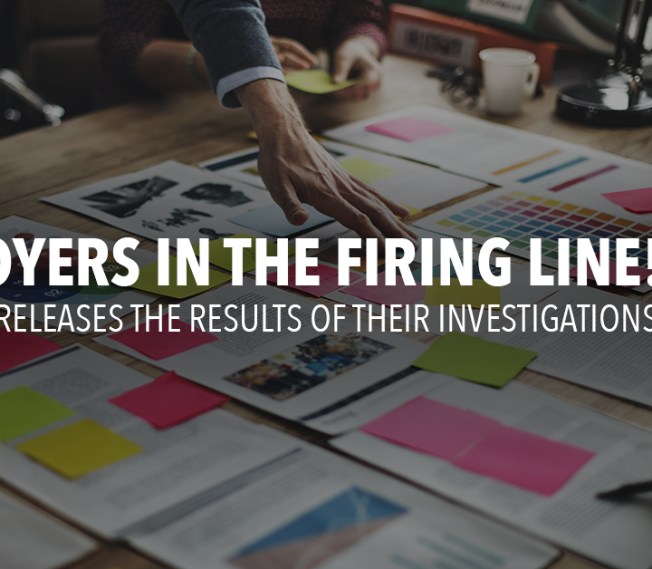 Employers in the firing line