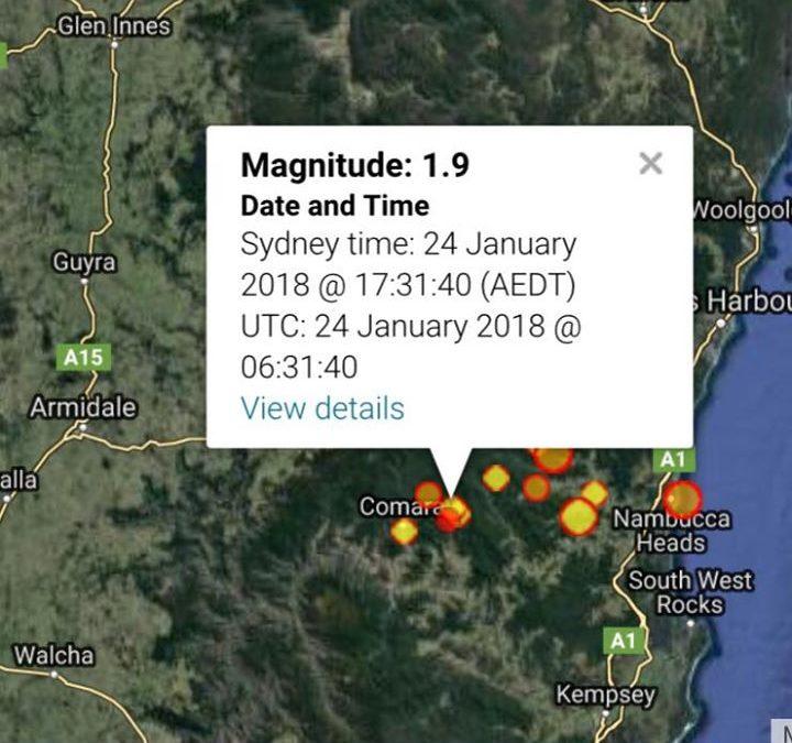 Magnitude 1.9 at 5:31 pmM…