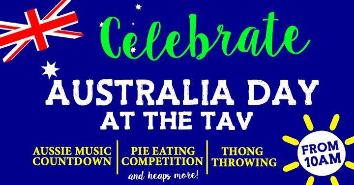Australia Day at the Tav