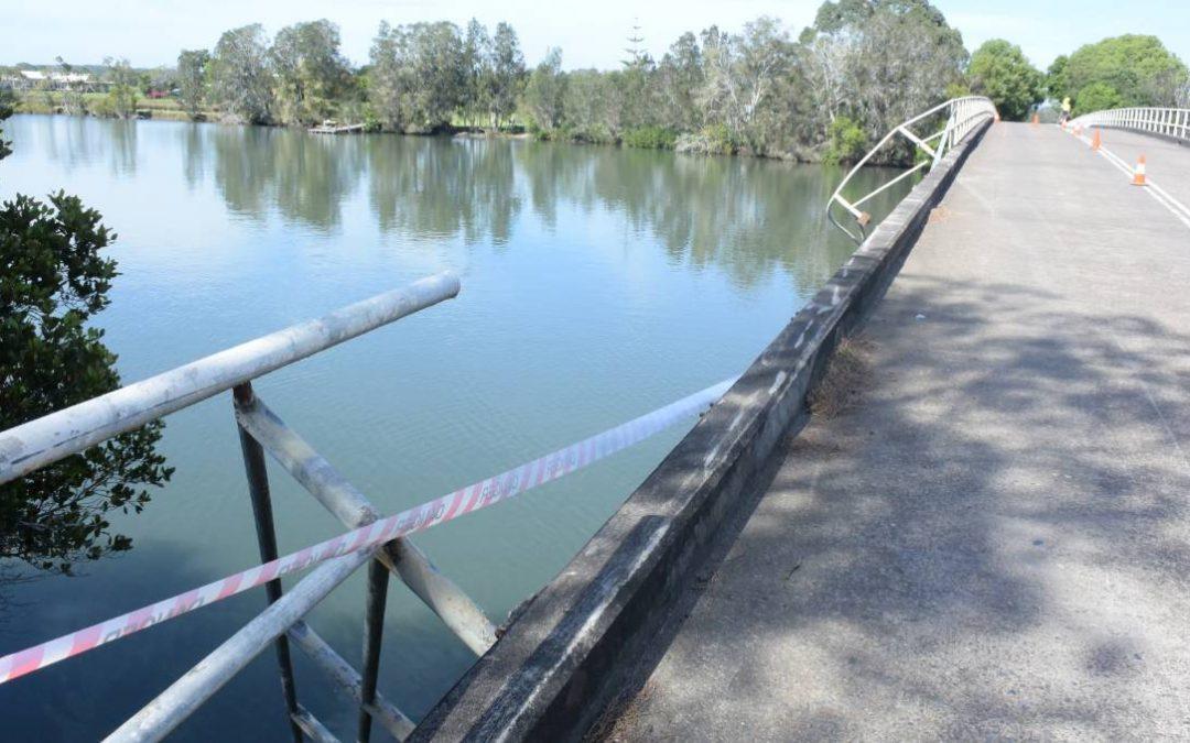Car off bridge at Mitchells Island – police investigation underway