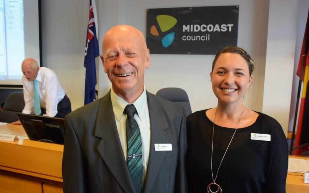 David West elected mayor of MidCoast Council