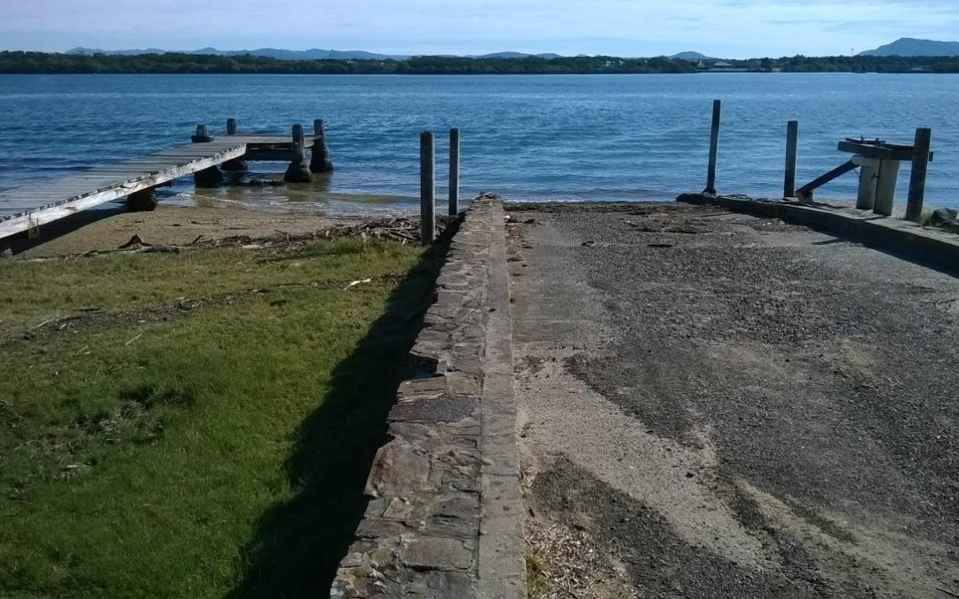 Improvements to Manning Point boat ramp