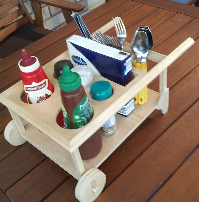 Prototype BBQ Caddy made,…