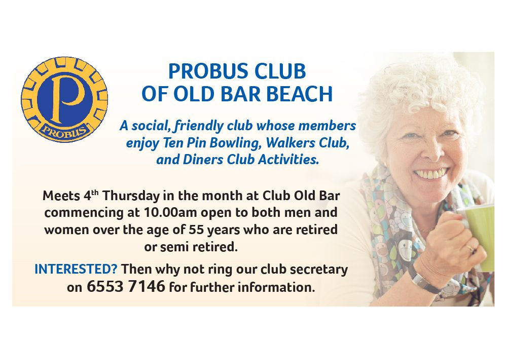 Probus Club of Old Bar Beach
