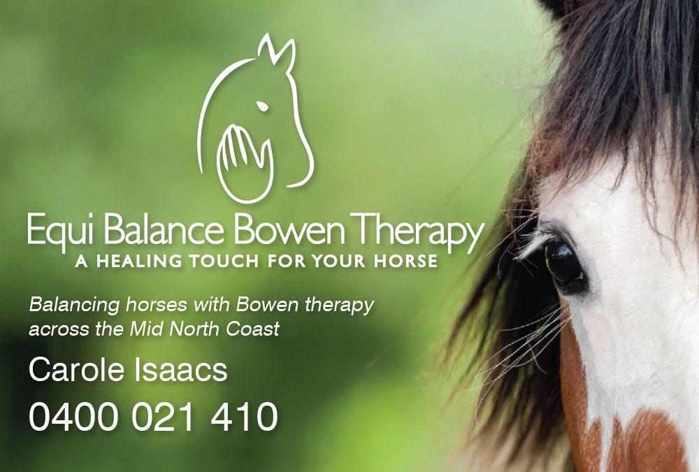 Equi Balance Bowen Therapy
