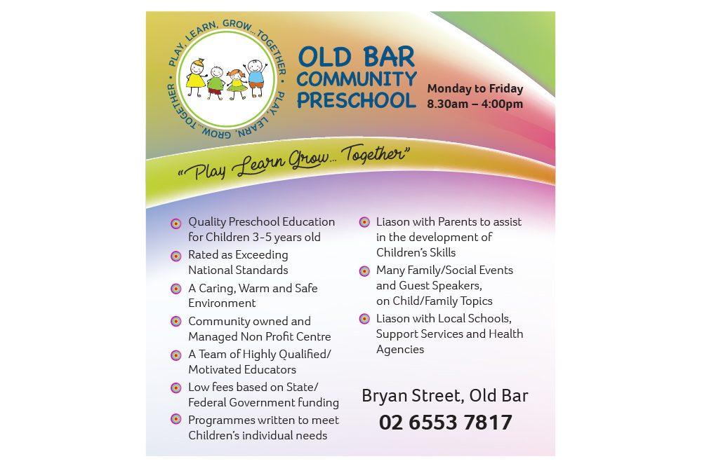 Old Bar Community Preschool