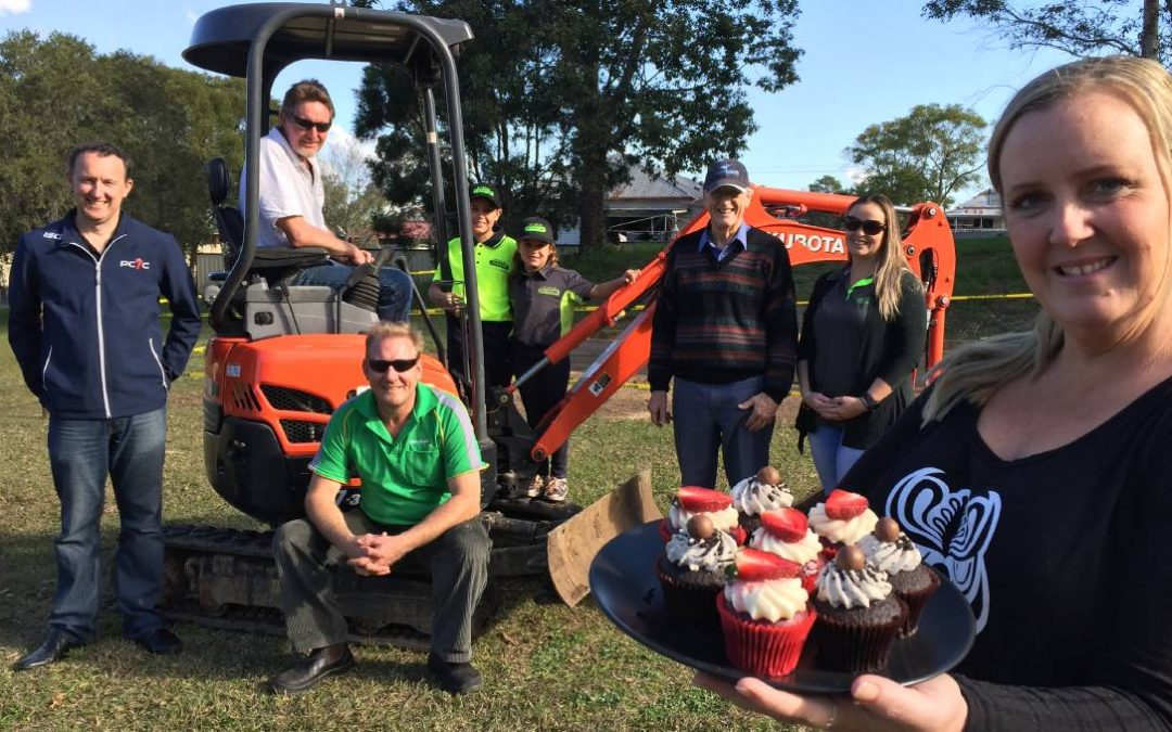 Rallying cry for urgent help to move Taree Community Garden
