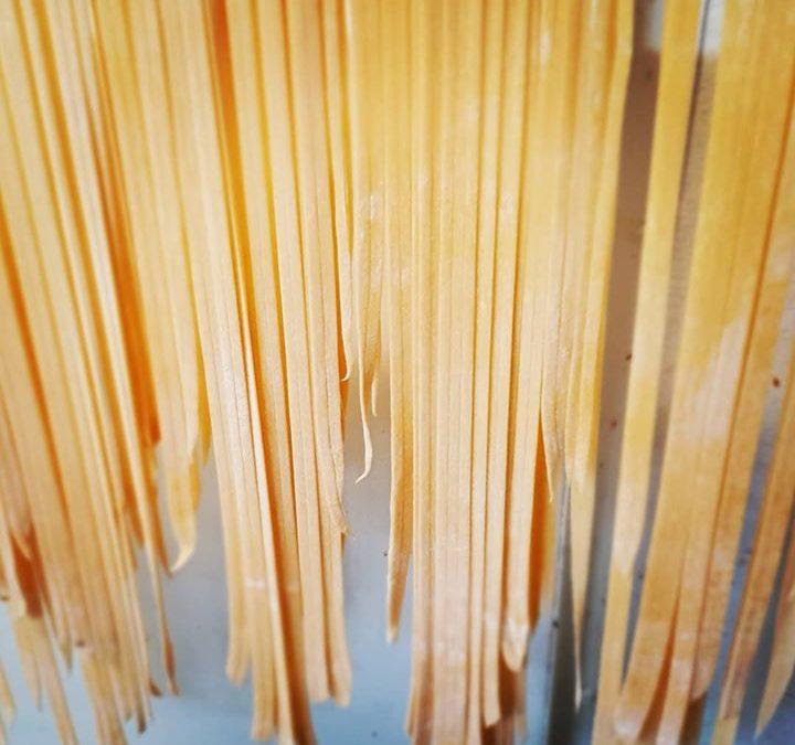Love pasta day. Made here…