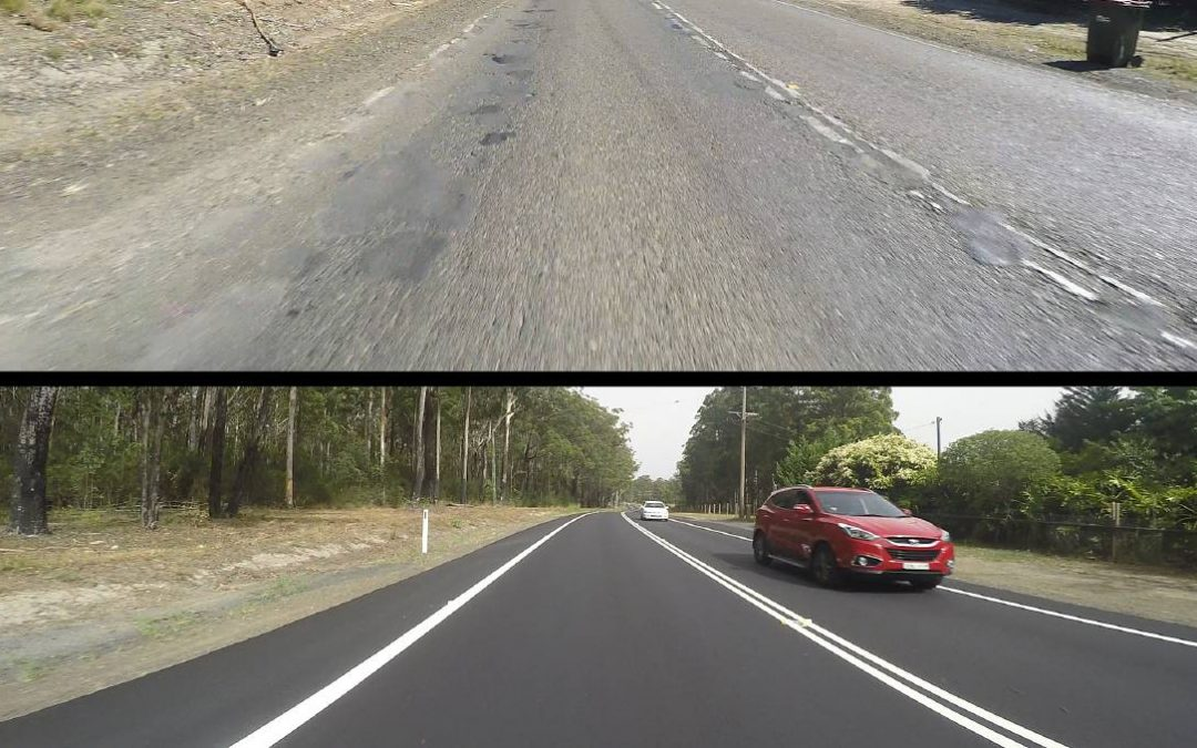 A smoother and safer ride for Old Bar Road drivers