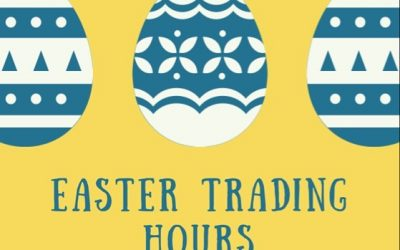 EASTER TRADING HOURS……
