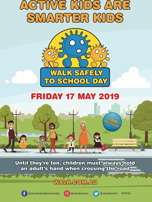 Tomorrow is National Walk…