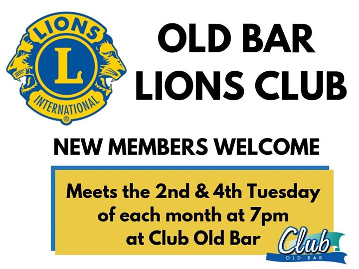 The Old Bar Lions Club wi…